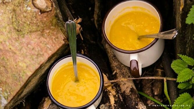 zupa z dyni pieczonej